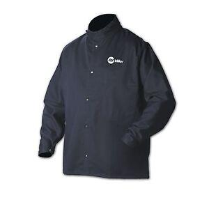 "MILLER 244752 30"" CLASSIC CLOTH WELDING JACKET SZ X-LG"