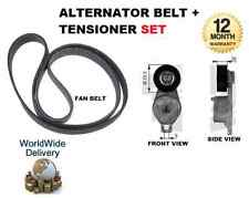 FOR CHRYSLER GRAND VOYAGER 3.3 2000 >NEW ALTERNATOR FAN BELT + TENSIONER PULLEY