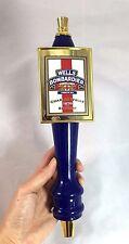 WELLS BOMBARDIER English Premium Ale Charles Wells Brewery 1876 Beer Tap Handle