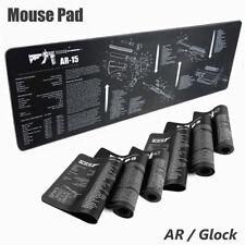 Glock / Ar Bench Mat Gun Cleaning Mat Armorers Bench Mat Gaming Mouse Mat