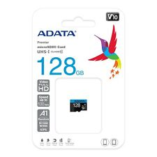 128GB Micro SD SDHC SDXC TF Memory Card 128 GB with SD Adapter Class 10