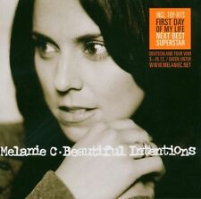 MELANIE C 'BEAUTIFUL INTENTIONS' CD NEW+!!!!!!!!