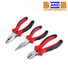 DRAPER 68001 Combination pliers Diagonal side cutters long nose pliers Set A1627