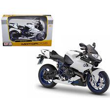 Maisto Bmw HP2 Sport Bike Motorcycle 1:12 31159 White