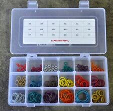 Captain O-Ring Player Kit JR COLOR CODED Master Paintball Kit 18 Sizes 180 pcs