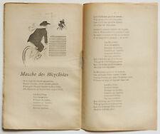 La Lanterne De Bruant 1897 French vintage ad style art print