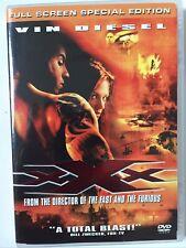 * Vin Diesel Xxx Triple X Full Screen Dvd