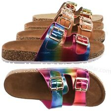 30bebca12 Defeat Contoured Footbed Slide On Sandal - Unisex Slipper Corks Shoes