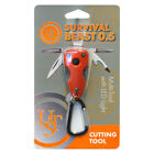 UST Survival Beast 5-in-1 Multi-tool with LED Light Orange 20-775-A640