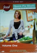 QUICK FIX MEALS with ROBIN MILLER VOL ONE TAKEOUT Collection 3-Disc