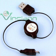Adattatore USB cavo retrattile per SONY ERICSSON VIVAZ CRM