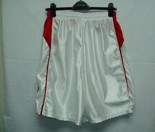 Basketball Shorts No Pockets Basket Ball Adult 100% Nylon New No Tags