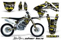 Dirt Bike Decal Graphics Kit Sticker Wrap For Suzuki RMZ450 2008-2017 SSSH Y K