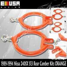 Rear Camber Arm fits 1989-1993 Nissan 240SX SE Hatchback 2D S13 2.4L ORANGE