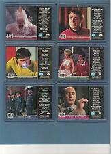 Star Trek TOS The Original Series 6 card Lot Gold G36 G45 G46 G48 G49 G56 Nm/Mt