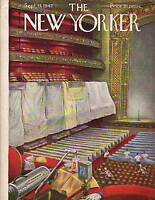 1947 New Yorker September 13 - Cleaning the theatre