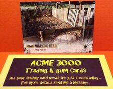 Cryptozoic Walking Dead Season 4 Part 2 SILVER FOIL Parallel Card 13 #16/99