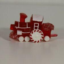 Hallmark 1988 Merry Miniature Candy Train Engine (red) #2