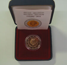 2 Euro Belgien 2012 Königin Elisabeth Musikwettbewerb PP Proof