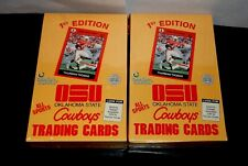 2-1991 OSU Cowboys All Sports Trading Cards 1st Edition Factory Sealed Boxes