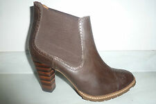 Clarks Pull On Slim Heel 100% Leather Upper Shoes for Women
