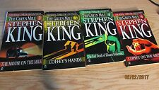 THE GREEN MILE SERIAL THRILLER 4 BOOKS 2-4 AND 6 1ST EDITION 1996 STEPHEN KING