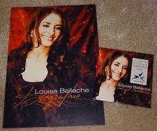 Eurovision Song contest 2003 France Louisa Baïleche Mons et Merveilles press CD