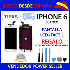 PANTALLA PARA IPHONE 6 LCD + TACTIL BLANCO TOUCH DISPLAY AAA+ BLANCA