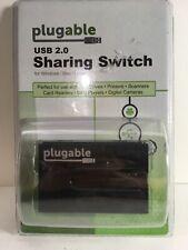 Plugable USB 2.0 Port Sharing Switch