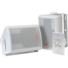 Nuvo NV-WA30W-UK Speaker with Amp & Power Supply