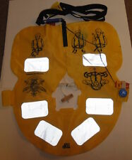 YELLOW FLOTATION VEST Australian Defence Floatation Float Life Perserver Jacket