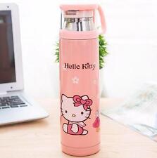 Cute Hello Kitty Office Stainless Steel Vacuum Warm Travel Mug Tea Cup 500ml