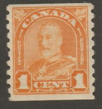 """CANADA 1930 #178 King George V """"Arch / Leaf"""" Issue Coil Stamp - F MH"""
