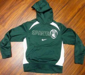 MICHIGAN STATE Spartans youth small hoodie East Lansing hooded sweatshirt Nike