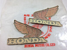 HONDA FUEL TANK WINGS CR MT XL XLR MR XR SL Decal Stickers 125 250 Vintage NOS