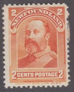 Newfoundland 1897-01 #81 - Royal Family (King Edward VII) - F MHR