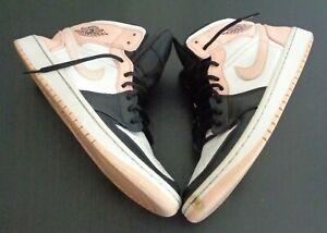 NIKE Air Jordan 1 Mid 'Crimson Tint' Size 10 Shoes 554724-133 Sneakers FREE SHIP