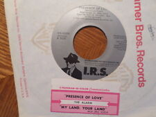 IRS 45 RECORD/THE ALARM/ PRESENCE OF LOVE/MY LAND YOUR LAND/ EX