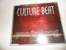 Cd  Culture Beat  – You Belong
