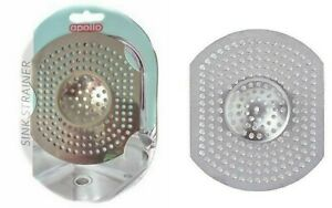 APOLLO STAINLESS STEEL BASIN SINK STRAINER UNBLOCK DRAINS FOOD WASTE LARGE HAIR