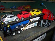 """vintage  90's  VW  DEALER > """"RC""""  > autotransporter truck,  complete  &  RTR !"""