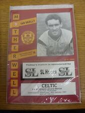 30/01/1991 Motherwell v Celtic  .  Thanks for taking the time to view this item,