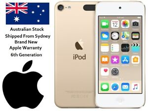 Brand New Apple iPod Touch 6th Gen 128GB Gold MP3 MP4 Video Player A1574 MKWM2ZP