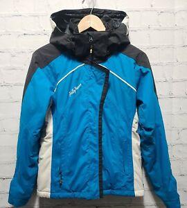 Helly Hansen Women's Helly Tech Jacket Outdoor Ski Hooded Small Petite Blue, A60
