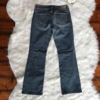 Levi's 515 -Size 4P- Women's Blue Boot Leg Cut Denim Jeans Mid Rise Medium Wash