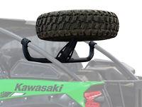 SuperATV Heavy-Duty Spare Tire Carrier for Kawasaki Teryx KRX 1000 (2020+)