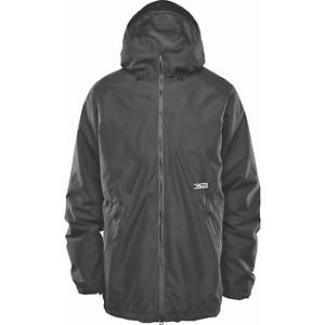 Snowboard Shell Jacket Mens Large Black Thirtytwo Lashed 2021 32