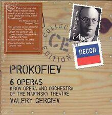 Sergey Prokofiev 6 Operas Box CD set Valery Gergiev Kirov Opera Mariinsky Theatr