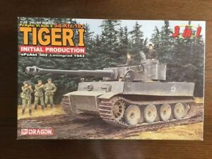 Dragon Tiger I Initial Type Initial Version vintage plastic model from japan 2N