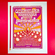 New listing Quicksilver Messenger Service 1971 Uncut Poster. Bruce Webber. 1989 Reprint